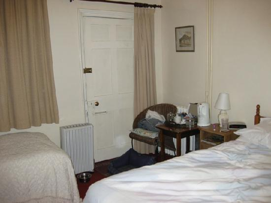Ashdale Guest House: Room and back door