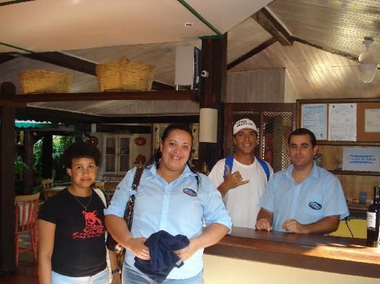 Porto Pacuiba Hotel: Amigos de Porto Pacuiba