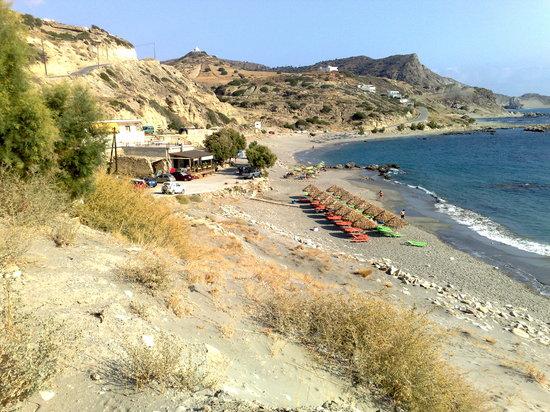 Plakias, Grekland: Triopetra Beach