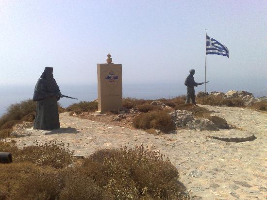 Xrisoula Studios: Preveli Monastery War Memorial