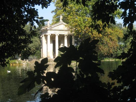 Hotel Garda: aperçu dans le parc de la Villa Borghèse