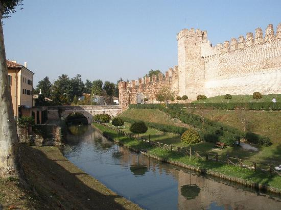 Cittadella, İtalya: Vicenza Gate.  One of four around the town walls