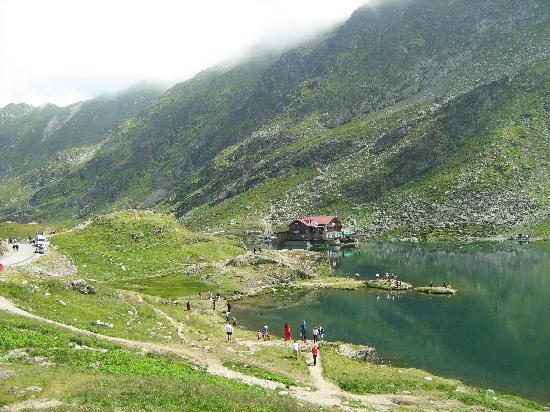 Sibiu County, Rumunsko: Balea Lac (Balea Lake), Transylvania, Romania