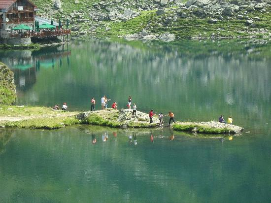 Balea Glacier Lake: Balea Lac (Balea Lake), Transylvania, Romania