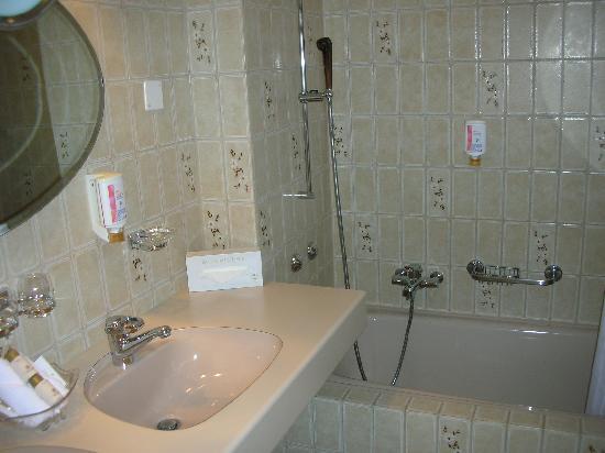 Hotel Opera Zurich: Bathroom