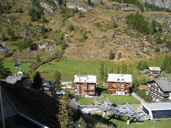 Hotel Matterhorn Focus: バルコニーからの眺め