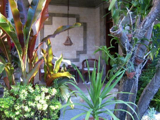Tamukami Hotel: Terrace