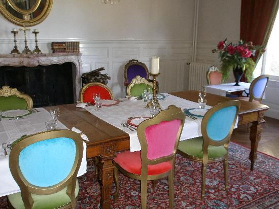 Chateau de Savilly: Dining room