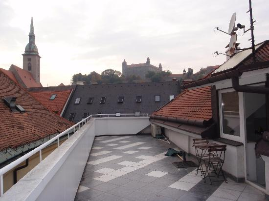 Old Town Apartment: View from the terrace
