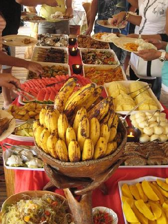 Loboc, Filipinler: the food