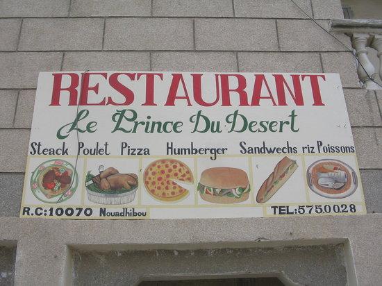 Le prince du desert: voila le carrafour socogim