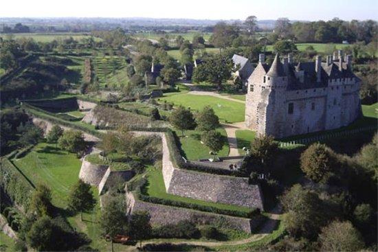 Château de la Roche-Jagu : le parc de la Roche Jagu