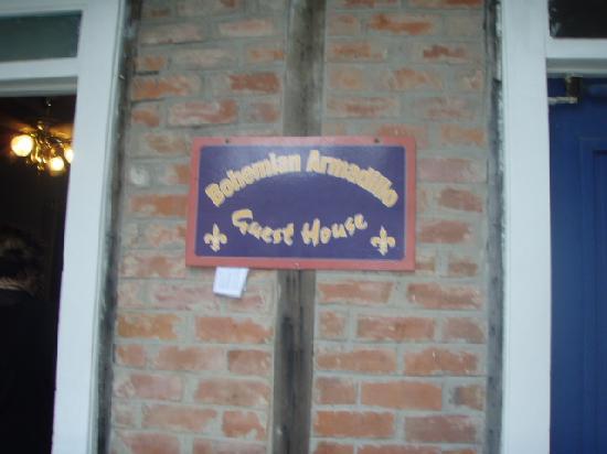 La Boheme de Marigny: Front of guesthouse