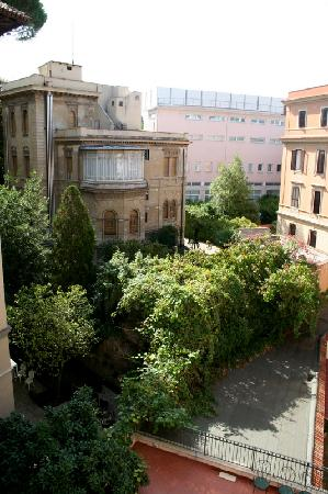 Villa Morgagni: view from our room