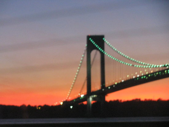 ‪Verrazano Narrows Bridge‬