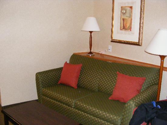 Comfort Suites Longmont: Big Couch