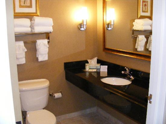 Comfort Suites Longmont: Beautiful Bathroom