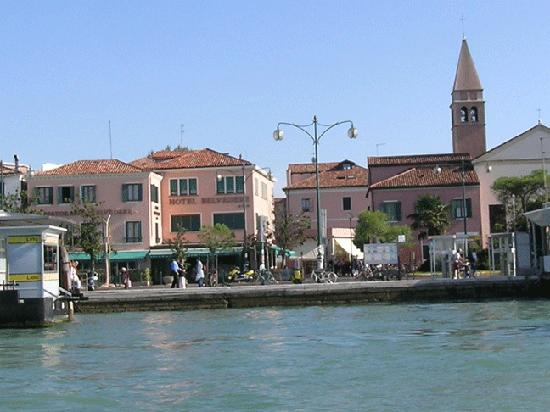 Hotel Belvedere : View from the Venice Lagoon