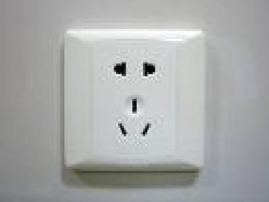 Most commonly seen sockets in Guangzhou/China