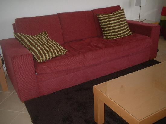 Very comfortable sofa bed picture of hotel apartamento for Sofa bed very