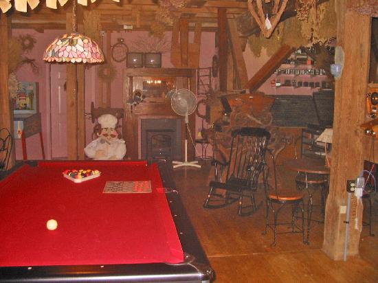 Inn by the Mill: inside the mill, where the innkeepers live