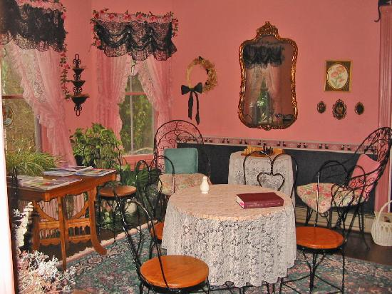 """Inn by the Mill: our """"private"""" breakfast nook"""