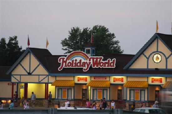 Indiana: Holiday world, Santa Claus
