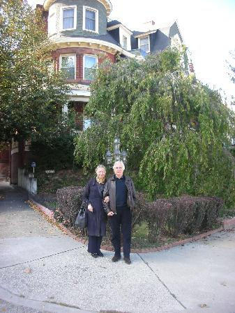 Wilson House Bed and Breakfast: Penny and Martin Freeston from London, England