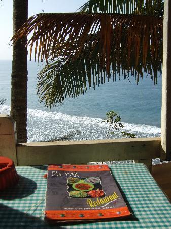 Hill View Beach Resort: View from Tibetan restaurant, Hill Top Beach