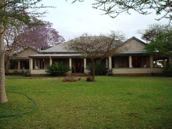 White Elephant Safari Lodge: The Main Lodge