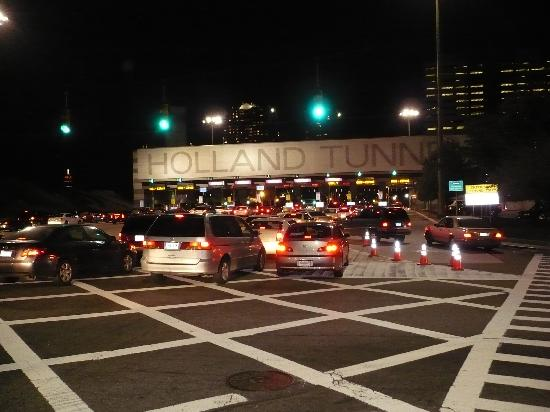 holland tunnel night picture of the holland hotel