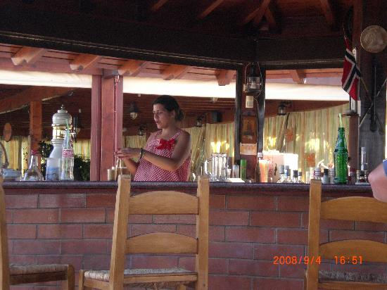 Enorme Eanthia Beach: The bar at the hotel