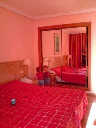 Room 222 bedroom