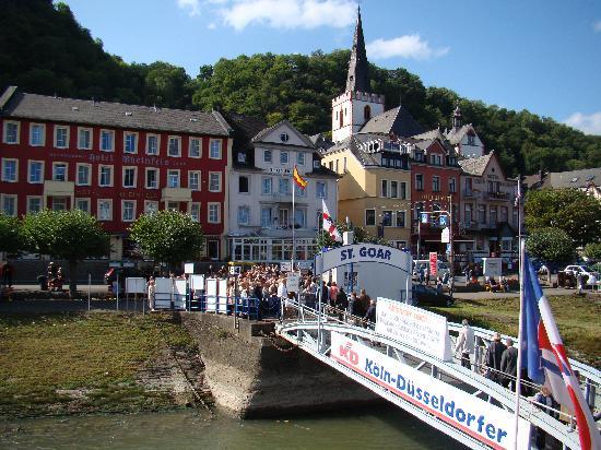 Hotel Jagdschloss Niederwald: Stop along the Rhine Cruise