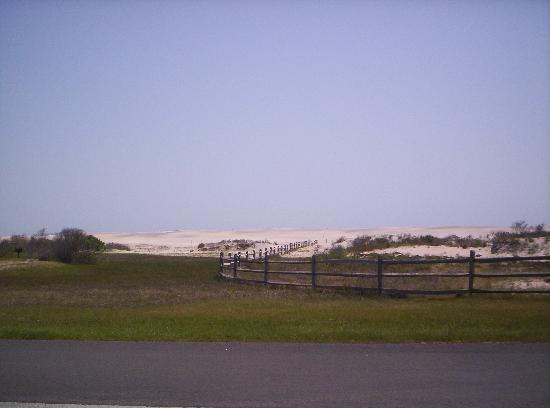 Assateague Island National Seashore Campground : Looking East