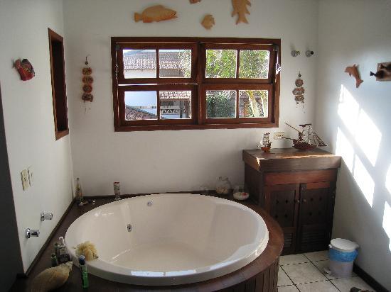 Pousada Natur Campeche: Suite Luxor tub