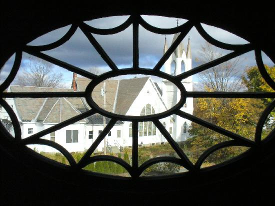 Governor's House in Hyde Park: View from upstairs window