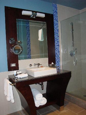 Hotel Nelligan: Bathroom 1 Room 413