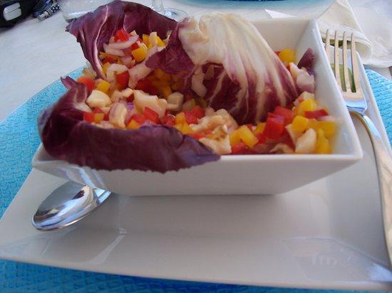 Beach Club Cafe: Glorious Conch Salad