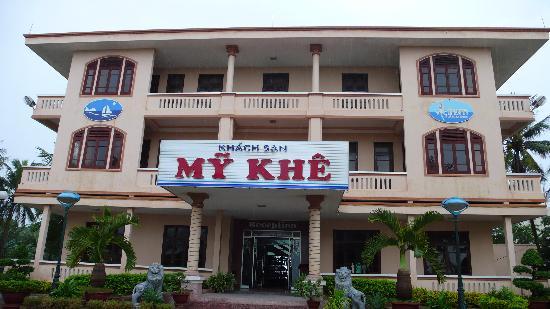 My Khe Beach Hotel: My Khe reception