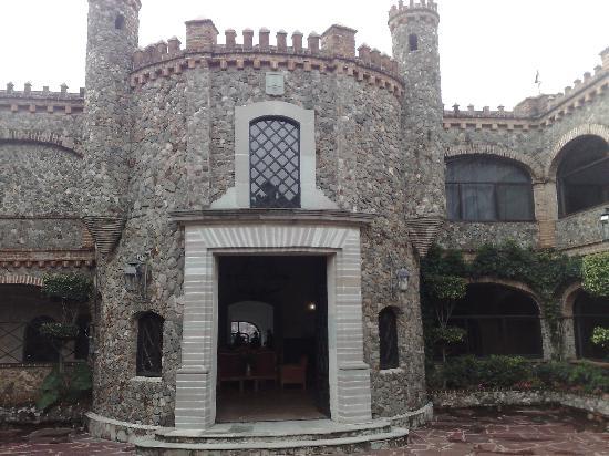 Castillo Santa Cecilia Hotel: Entrada