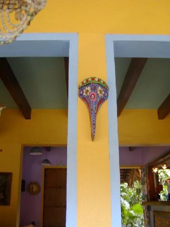Hotel Guarana: Lots of color and artful touches!