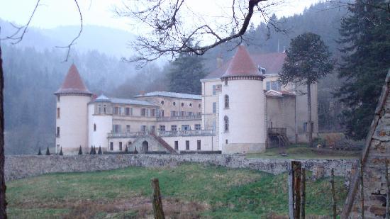 La chambre des amoureux picture of chateau de pramenoux for Chambre amoureux
