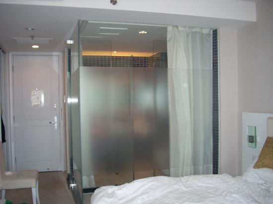 Qianyuan International Business Hotel: Shower Enclosure