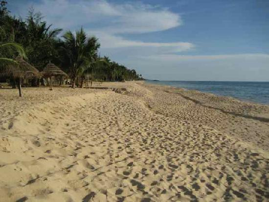 Cassia Cottage: Gorgeous beach just feet away from Cassia