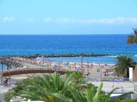 Hotel Gala: La plage depuis l'hôtel