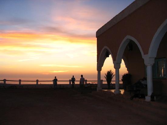 Les 3 Chameaux: le coucher de soleil
