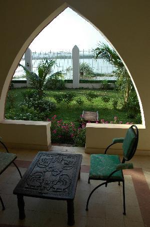 Villa Soudan: Terrasse et jardinet privatif pour chaque chambre