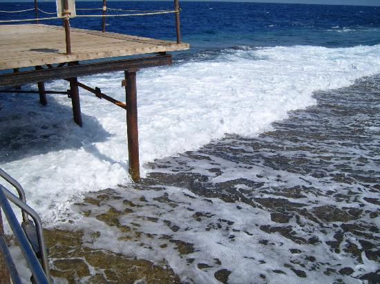 Resta Reef Resort: Mer rouge