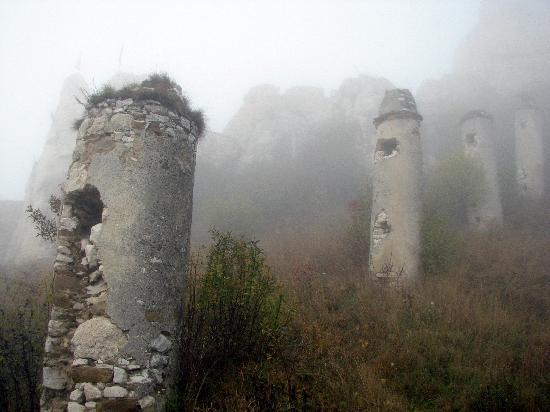 ปราสาทสปิส: This is what we saw on a misty morning